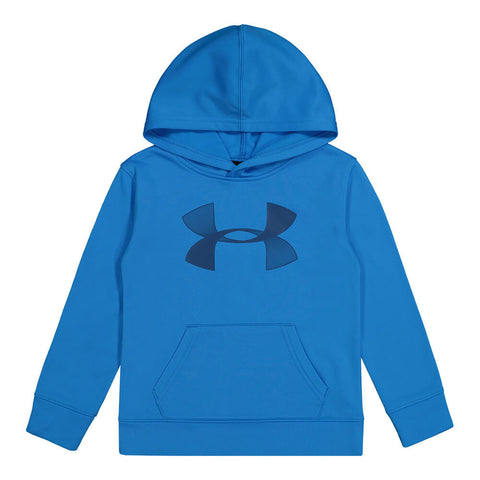 UNDER ARMOUR BOYS 4-7 UA HOODIE ELECTRIC BLUE