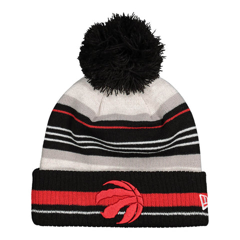 NEW ERA MEN'S TORONTO RAPTORS KNIT GRAYED HAT GREY