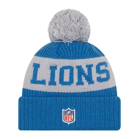 NEW ERA MEN'S DETROIT LIONS OFFICAL SPORT KNIT HAT