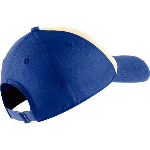 NIKE MEN'S TORONTO BLUE JAYS H86 COOPERSTOWN SCRIPT CAP WHITE/BLUE