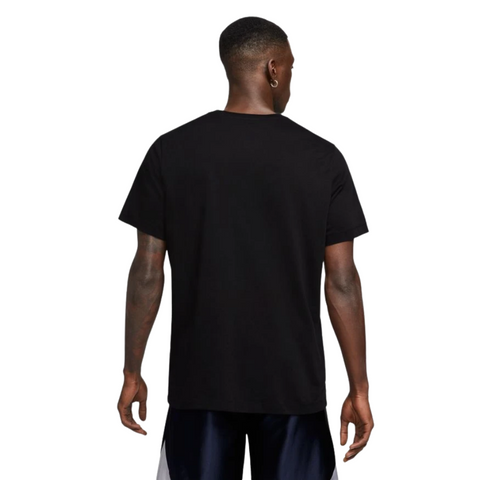 NIKE MEN'S DRY OC PHOTO SHORT SLEEVE TOP BLACK