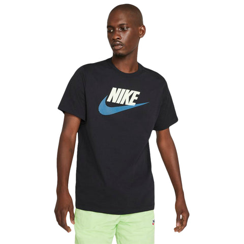 NIKE MEN'S NSW ALTERNATE BRAND MARK SHORT SLEEVE TOP BLACK/BLUE