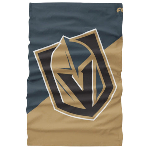 FOREVER COLLECTIBLES LAS VEGAS GOLDEN KNIGHTS BIG LOGO GAITER SCARF