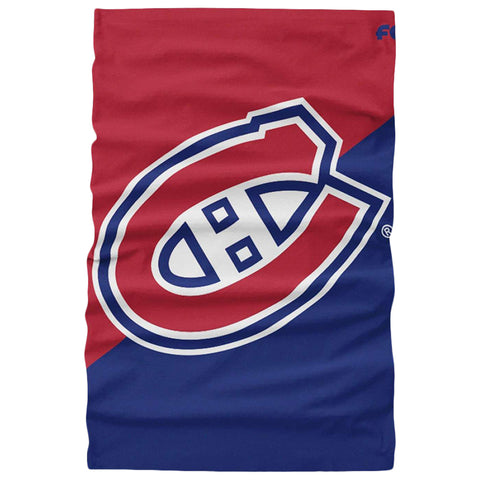 FOREVER COLLECTIBLES MONTREAL CANADIENS BIG LOGO GAITER SCARF