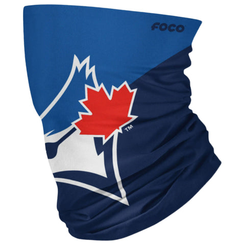 FOREVER COLLECTIBLES YOUTH TORONTO BLUE JAYS BIG LOGO GAITER SCARF