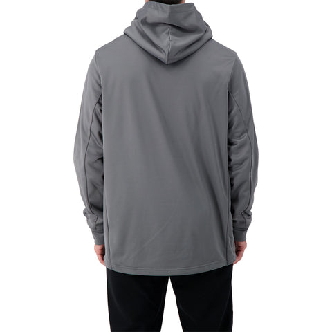 FANATICS MEN'S SEATTLE KRAKEN PRIMARY LOGO HOODY STORM GREY
