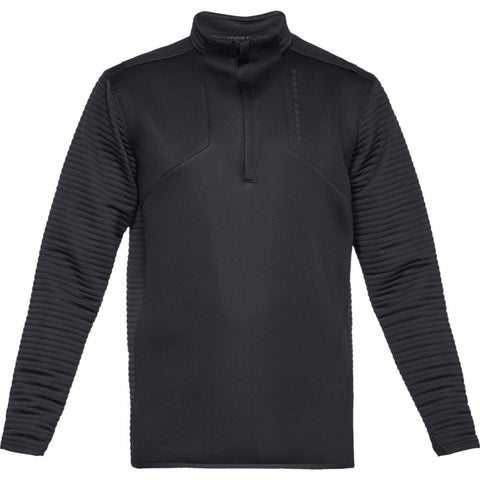 UNDER ARMOUR MEN'S STORM DAYTONA 1/2 ZIP TOP BLACK