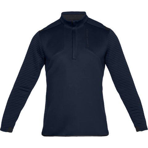UNDER ARMOUR MEN'S STORM DAYTONA 1/2 ZIP TOP NAVY