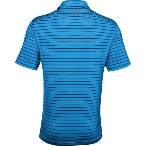 UNDER ARMOUR MEN'S UA PLAYOFF POLO 2.0 BLUE