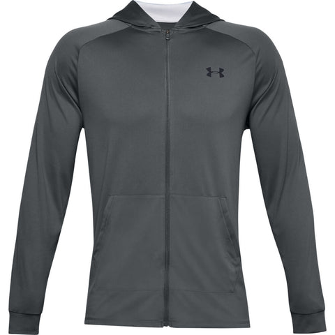 UNDER ARMOUR MEN'S TECH 2.0 FULL ZIP HOODY GREY