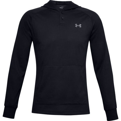 UNDER ARMOUR MEN'S COLD GEAR INFRARED HOODY BLACK