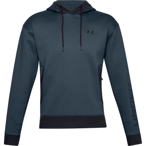 UNDER ARMOUR MEN'S RECOVER FLEECE HOODY BLUE