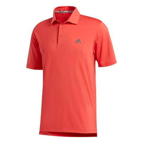 ADIDAS MEN'S ULTIMATE 2.0 POLO REAL CORAL