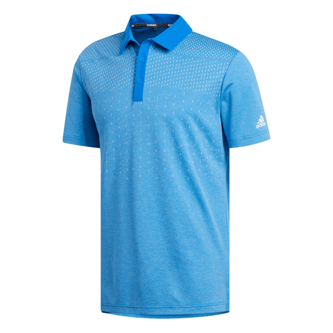ADIDAS MEN'S KEY SPORT POLO GLORY BLUE