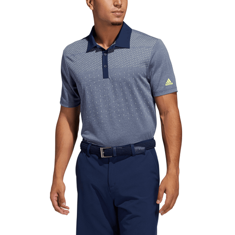 ADIDAS MEN'S KEY SPORT POLO COLLEGIATE NAVY MEL