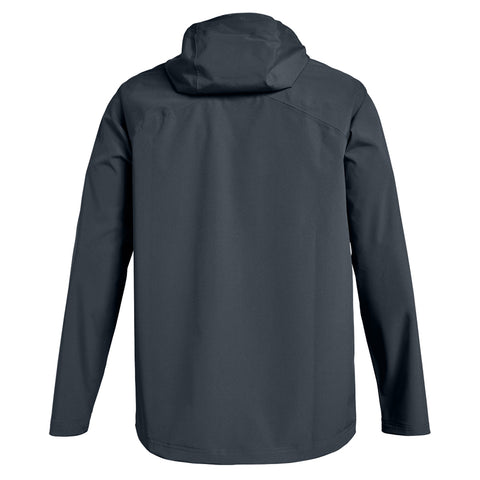 UNDER ARMOUR MEN'S STORM RAIN JACKET STEALTH GREY BACK
