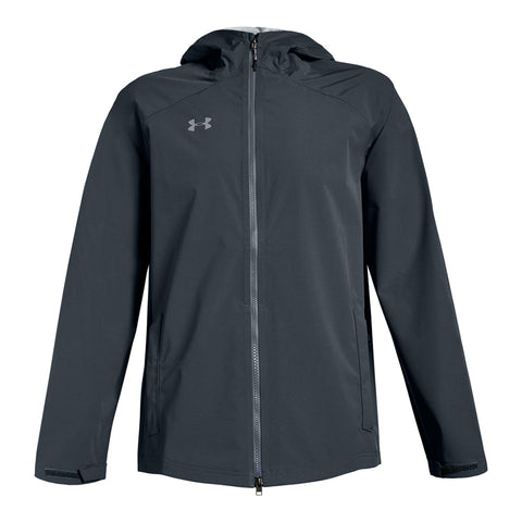UNDER ARMOUR MEN'S STORM RAIN JACKET STEALTH GREY