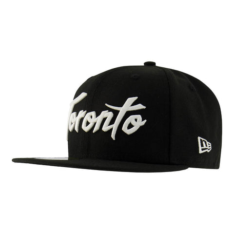 NEW ERA MEN'S TORONTO RAPTORS 5950 TORONTO HAT BLACK