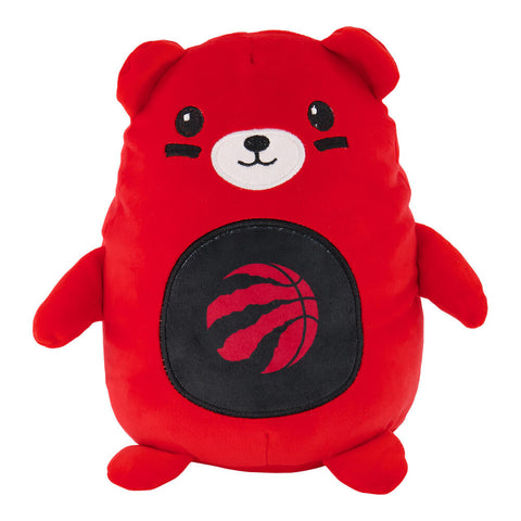 FOREVER COLLECTIBLES TORONTO RAPTORS BEAR SMUSHERZ10''