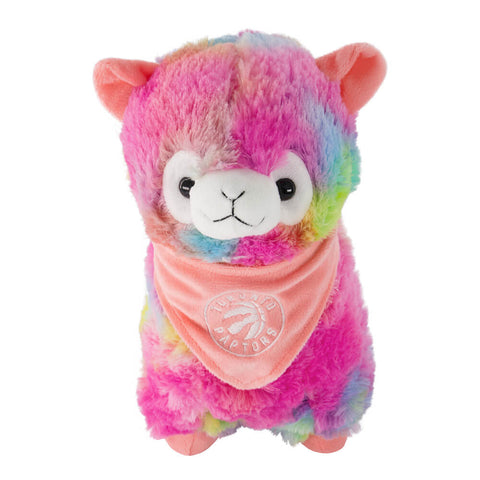 FOREVER COLLECTIBLES TORONTO RAPTORS RAINBOW LLAMA 12''