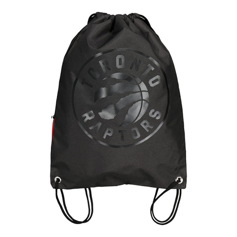 FOREVER COLLECTIBLES TORONTO RAPTORS TONAL DRAWSTRING BAG