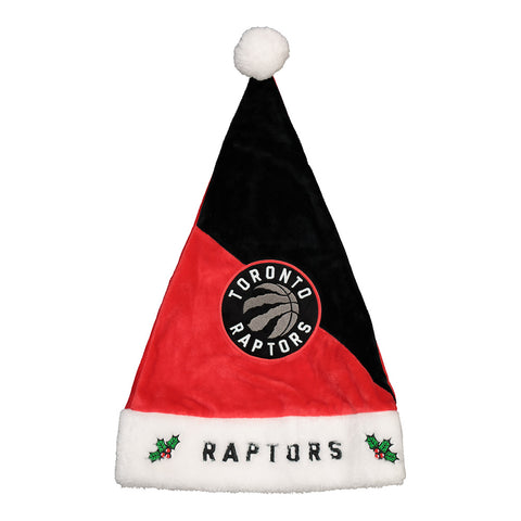 FOREVER COLLECTIBLES TORONTO RAPTORS SANTA HAT