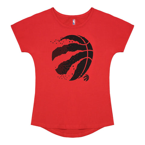 OUTERSTUFF YOUTH TORONTO RAPTORS CHASING HEART SHORT SLEEVE DOLMAN TOP