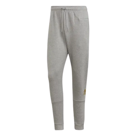 ADIDAS MEN'S SPORTS ID PANT M GRAPHITE HEATHER/GOLD