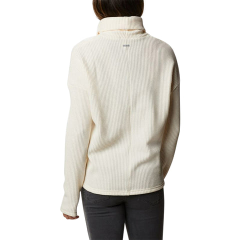 COLUMBIA WOMEN'S CHILLIN FLEECE PULLOVER CHALK THERMAL