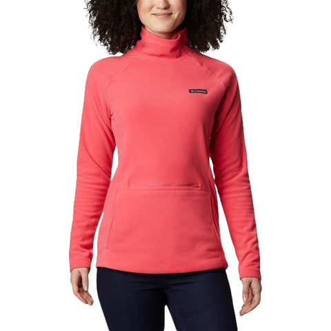 COLUMBIA WOMEN'S ALI PEAK 1/4 ZIP FLEECE BRIGHT GERANIUM