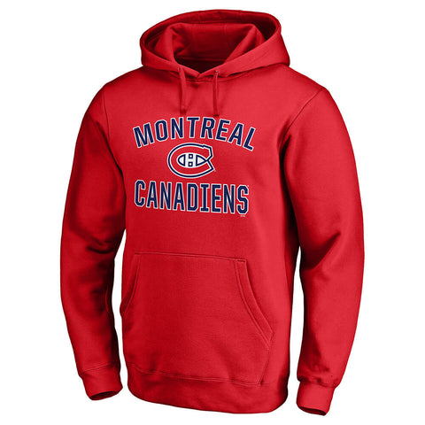 FANATICS MEN'S MONTREAL CANADIENS VICTORY ARCH FLEECE RED