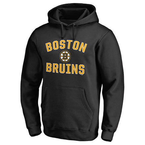 FANATICS MEN'S BOSTON BRUINS VICTORY ARCH FLEECE BLACK