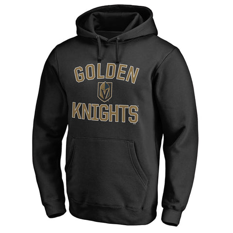 FANATICS MEN'S LAS VEGAS GOLDEN KNIGHTS VICTORY ARCH FLEECE BLACK