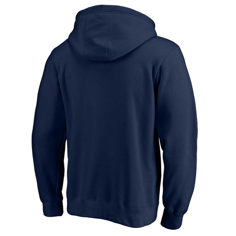 FANATICS MEN'S EDMONTON OILERS VICTORY ARCH FLEECE NAVY