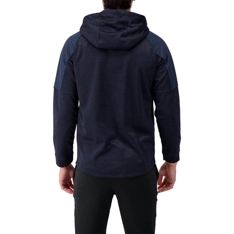 LEVELWEAR MEN'S MAVEN HOODY HEATHER NAVY/NAVY