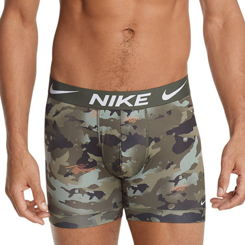 NIKE MEN'S BOXER BRIEF 3 PACK CAMO/ORANGE/BLACK
