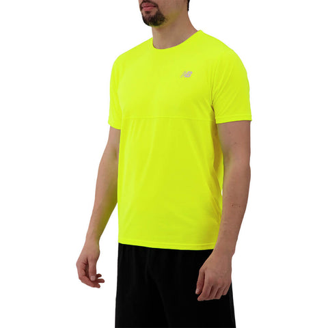 NEW BALANCE MEN'S ACCELERATE SHORT SLEEVE TOP