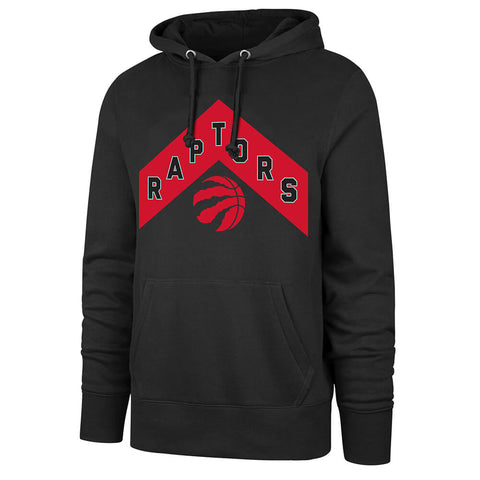 47 BRAND MEN'S TORONTO RAPTORS 21 HOODY BLACK