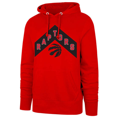 47 BRAND MEN'S TORONTO RAPTORS 21 HOODY RED