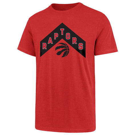 47 BRAND MEN'S TORONTO RAPTORS 21 SHORT SLEEVE TOP RED