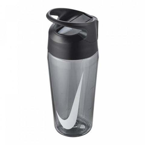 NIKE HYPERCHARGE STRAW BOTTLE 16OZ ANTHRACITE