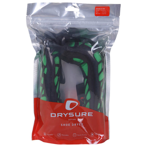 DRYSURE ACTIVE FOOTWEAR DRYER SMALL BLACK/GREEN