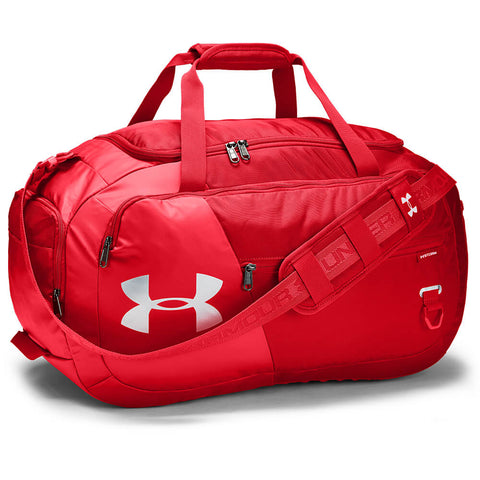 UNDER ARMOUR UNDENIABLE DUFFLE 4.0 MEDIUM RED