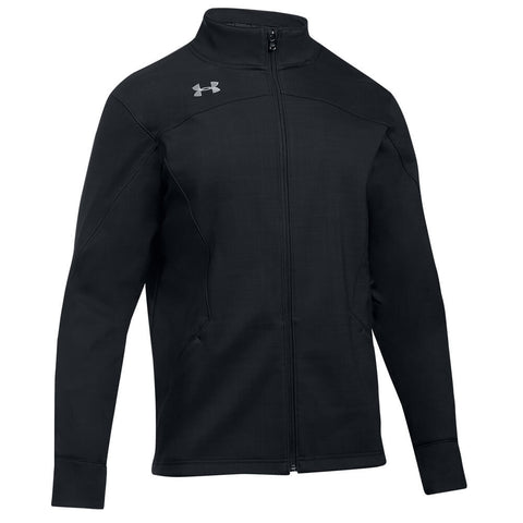 UNDER ARMOUR MEN'S BARRAGE SOFT SHELL JACKET BLACK