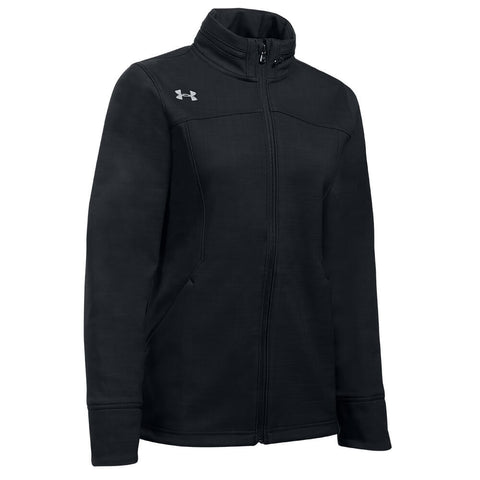 UNDER ARMOUR WOMEN'S BARRAGE SOFT SHELL JACKET BLACK