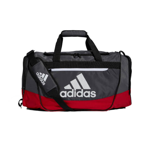 ADIDAS DEFENDER III MEDIUM DUFFEL SCARLET/GREY SIX