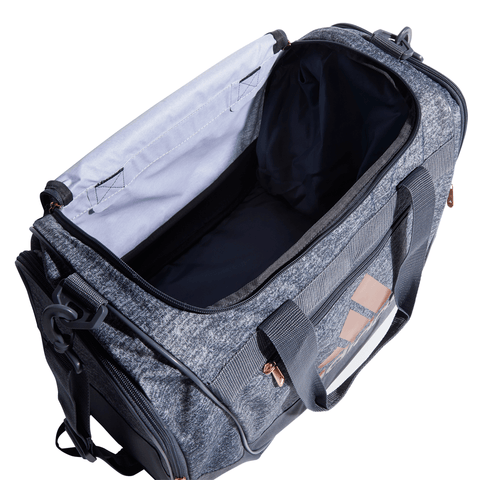 ADIDAS DEFENDER III SMALL DUFFEL JERSEY ONIX/ROSE GOLD INSIDE