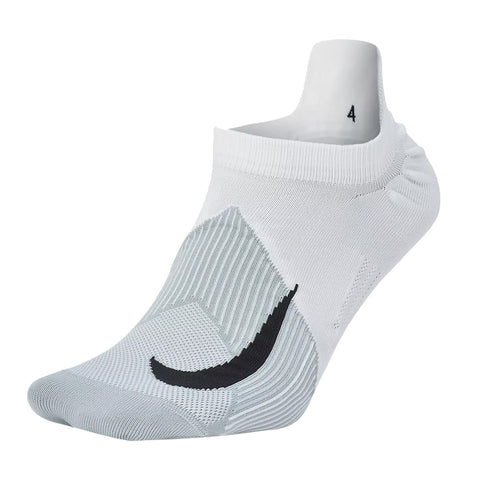 NIKE NO SHOW RUN SOCKS 10-  WHITE/WOLF GREY/BLACK