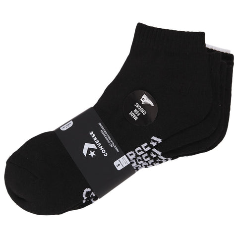 COLUMBIA MEN'S 6 PACK BLACK/WHITE SOCKS