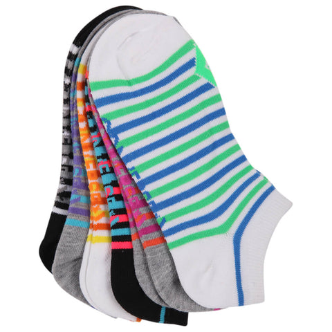 CONVERSE WOMEN'S 6 PACK MULTI COLOUR SOCKS